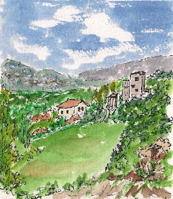 View fr Camino