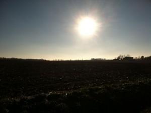 low arc sun