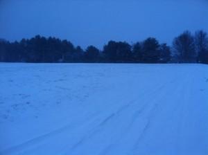 snowmobile track too